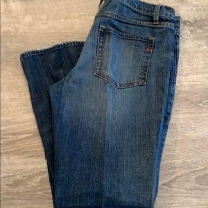 GAP boot cut jeans like new